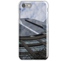 Hugging Columbus Circle - Curved New York Skyscrapers iPhone Case/Skin