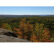 The Scenic Overlook - Algonquin in the Fall Photographic Print