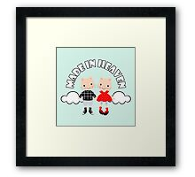 Made in Heaven (Mint) Framed Print