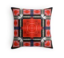 Red SUV Throw Pillow