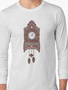 Autumn Cuckoo Clock Long Sleeve T-Shirt