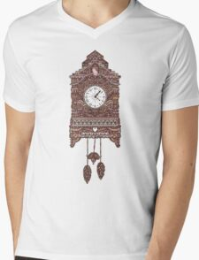 Autumn Cuckoo Clock Mens V-Neck T-Shirt