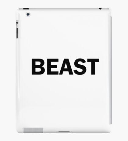 beast animal bold capital mammal iPad Case/Skin