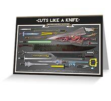 Cuts Like a Knife Greeting Card