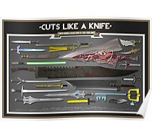 Cuts Like a Knife Poster