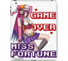 Miss Fortune - Game Over iPad Case/Skin