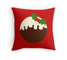 Christmas Pudding (version 2) Throw Pillow