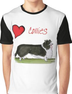i love collies by tony fernandes Graphic T-Shirt