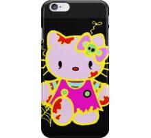 Zombie Hello Kitty  iPhone Case/Skin