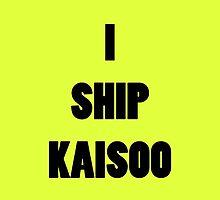 I ship KaiSoo by supalurve