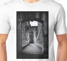 Conwy Suspension Bridge and Castle, Wales Unisex T-Shirt
