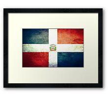 Dominican Republic - Vintage Framed Print