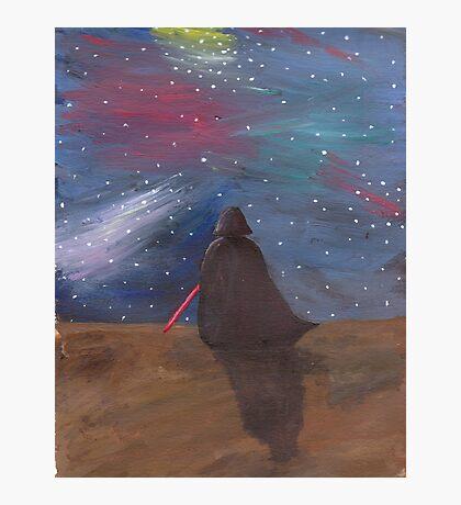 Darth Vader galaxy  Photographic Print