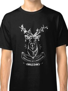 Dreaming of a whitetail Christmas - Funny Hunting Deer  Classic T-Shirt