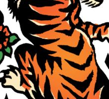 tssf tiger Sticker