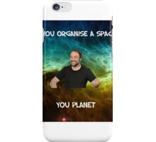 Lame dad space joke ft Mark Sheppard iPhone Case/Skin