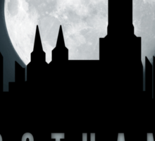 Gotham Moon Sticker
