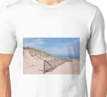 Early summer days at the beach Unisex T-Shirt