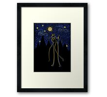 Starry Night Ride Framed Print