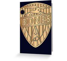 Judge Bones Greeting Card