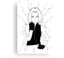 Sakura Haruno Canvas Print