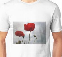 ...... where the poppies blow Unisex T-Shirt