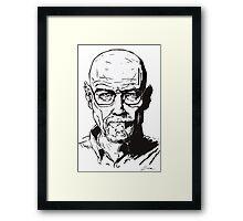 Walter White - Breaking Bad Framed Print