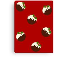 Christmas Pudding (version 3) Canvas Print