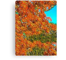 Autumn Impressions #2 Canvas Print