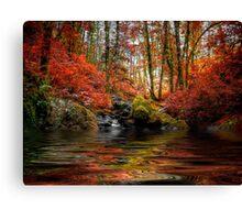 Just Drem Along ~ Fall Colors ~ Canvas Print