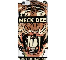 neck deep - a history of bad decisions  iPhone Case/Skin
