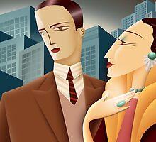 Deco Couple by Shane McGowan