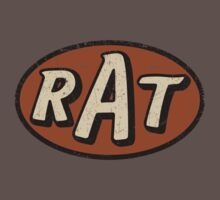 RAT - weathered/distressed Baby Tee