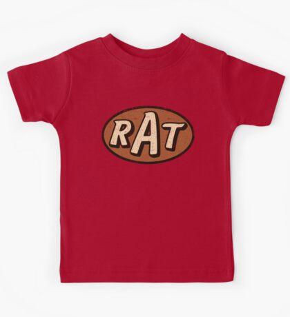 RAT - weathered/distressed Kids Tee