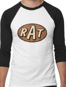 RAT - weathered/distressed Men's Baseball ¾ T-Shirt