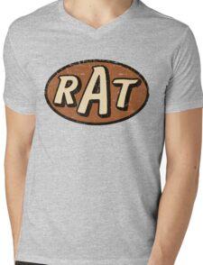 RAT - weathered/distressed Mens V-Neck T-Shirt