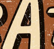 RAT - weathered/distressed Sticker