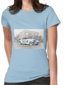 1930's Packard Twelve Roadster Womens Fitted T-Shirt
