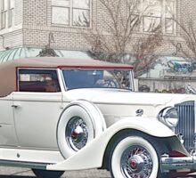 1930's Packard Twelve Roadster Sticker