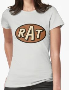 RAT - solid Womens Fitted T-Shirt