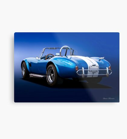 1966 Shelby Cobra 'Replica Rear View' Metal Print
