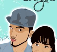 Nano Special Family Portrait  Sticker