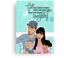 Nano Special Family Portrait  Canvas Print