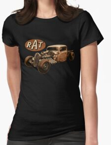 Rust RAT Womens Fitted T-Shirt