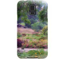 Barn in a Garden Samsung Galaxy Case/Skin