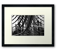Christchurch Art Gallery - Reflections Framed Print