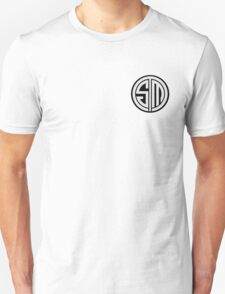 Team SoloMid (White on Black) T-Shirt