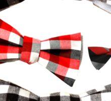 Bow Ties Sticker