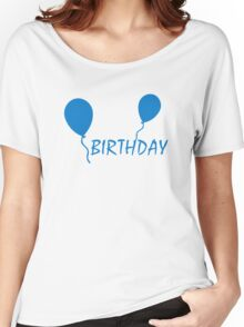 Birthday ballons Women's Relaxed Fit T-Shirt