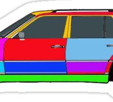 Mercedes W124 300TE Sticker